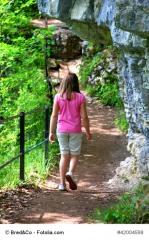 enfant et randonnée